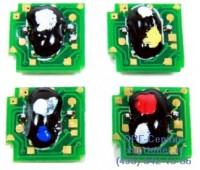 Чип пурпурного картриджа HP Color LaserJet CP6015/CM6040MFP