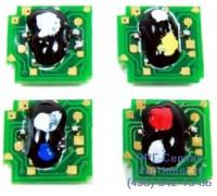 Чип картриджа HP 1600/2600/ 2605 голубой