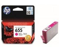 Картридж пурпурный струйный HP 655 оригинальный