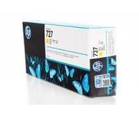 Картридж желтый F9J78A  / HP 727 повышенной емкости для HP DesignJet T920 / T930 / T1500 / T1530 / T2500 / T2530 (300МЛ.) оригинальный