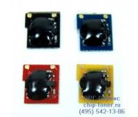 Чип черного картриджа HP CP3520 / CP3525
